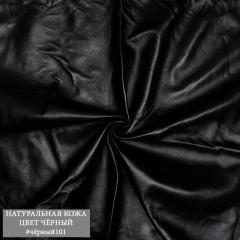 кожа чёрная #101